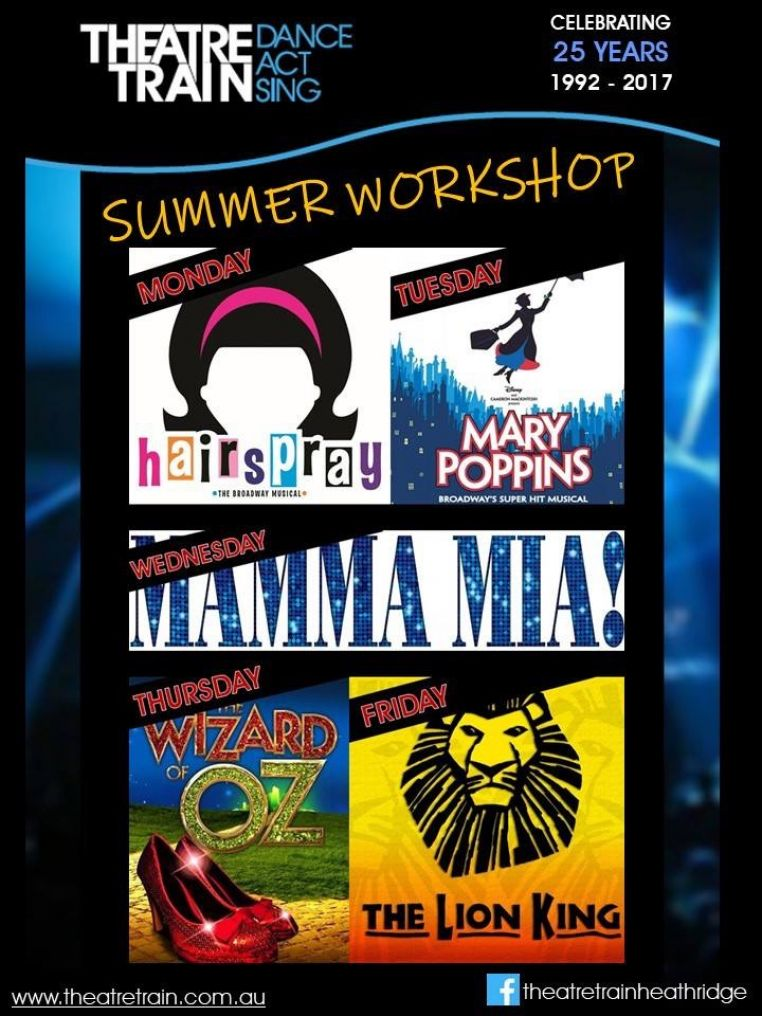 Theatretrain Heathridge's First Summer School